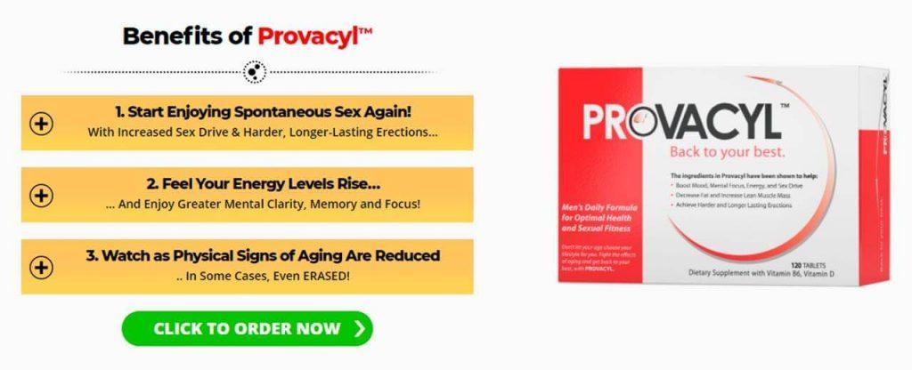 benefits of provacyl