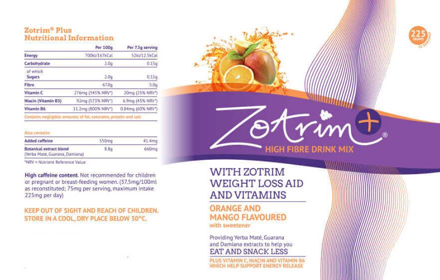 Zotrim Ingredients